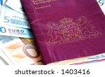 passport   euro's | Shutterstock . vector #1403416
