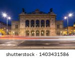vienna state opera at night ... | Shutterstock . vector #1403431586