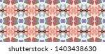 tibetan fabric. blue  green ... | Shutterstock . vector #1403438630