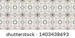 tibetan fabric. black and... | Shutterstock . vector #1403438693