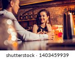 girlfriend smiling. beautiful... | Shutterstock . vector #1403459939