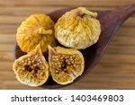 dried fig fruit cut in half... | Shutterstock . vector #1403469803