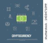 cryptocurrency trendy ui flat...