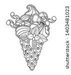 vector illustration ice cream...   Shutterstock .eps vector #1403481023