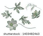 floral vector elements for...   Shutterstock .eps vector #1403482463
