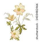 floral vector elements for...   Shutterstock .eps vector #1403482466