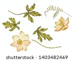 floral vector elements for...   Shutterstock .eps vector #1403482469