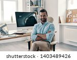 young and successful. young... | Shutterstock . vector #1403489426