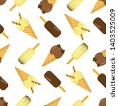seamless vector pattern of... | Shutterstock .eps vector #1403525009