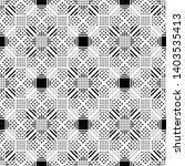 design seamless monochrome... | Shutterstock .eps vector #1403535413