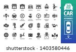 car icon set with basic... | Shutterstock .eps vector #1403580446