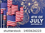 usa independence day. big... | Shutterstock .eps vector #1403626223