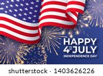 usa independence day. banner... | Shutterstock .eps vector #1403626226