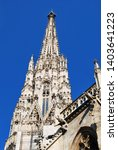 the st. stephen's cathedral in... | Shutterstock . vector #1403641223