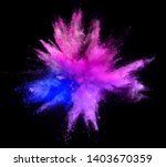 explosion of colored powder...   Shutterstock . vector #1403670359