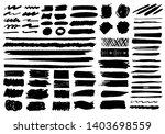 ink brushes strokes vector set...   Shutterstock .eps vector #1403698559