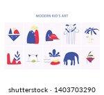 trendy abstract kids modern...   Shutterstock .eps vector #1403703290