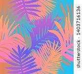 tropical botanical seamless...   Shutterstock .eps vector #1403716136