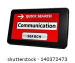 search for communication | Shutterstock . vector #140372473