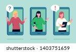 vector flat cartoon... | Shutterstock .eps vector #1403751659