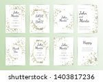 frame on flower background.... | Shutterstock .eps vector #1403817236