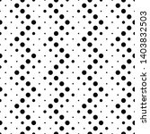black and white circle pattern... | Shutterstock .eps vector #1403832503