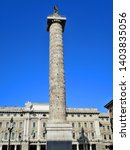 column of trajan   an ancient... | Shutterstock . vector #1403835056