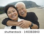 closeup portrait of a happy... | Shutterstock . vector #140383843