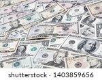 closeup of assorted american...   Shutterstock . vector #1403859656