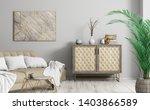 modern interior of living room... | Shutterstock . vector #1403866589