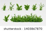 realistic green grass. 3d fresh ... | Shutterstock .eps vector #1403867870