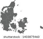 vector map denmark  country... | Shutterstock .eps vector #1403875460