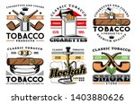 cigars  cigarettes and premium... | Shutterstock .eps vector #1403880626