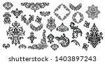 Vintage Set Of Patterns. For...