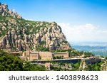 Montserrat Monastery Is Located ...