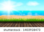 background for summer vacation... | Shutterstock . vector #1403928473