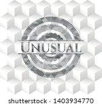 Unusual Grey Badge With...