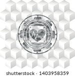 heart with electrocardiogram... | Shutterstock .eps vector #1403958359
