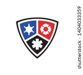Public Secure Badge Emblem Flat ...