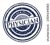 blue physician rubber grunge...   Shutterstock .eps vector #1404144083