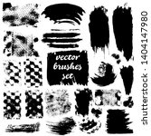 collection of dirty elements... | Shutterstock .eps vector #1404147980
