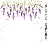 vector lavender  beautiful...   Shutterstock .eps vector #1404166703