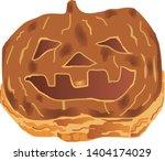 illustration of the pumpkin pie | Shutterstock .eps vector #1404174029