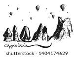 hand drawn illustration... | Shutterstock .eps vector #1404174629