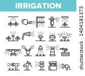 sprinklers  irrigation... | Shutterstock .eps vector #1404181373