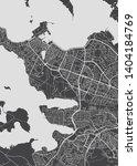 city map reykjavik  monochrome... | Shutterstock .eps vector #1404184769
