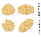 Sea Sponges Vector Cartoon Set...