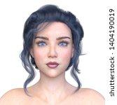 3D CG rendering of Woman
