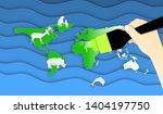 world environment or wildlife... | Shutterstock .eps vector #1404197750