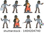 terror danger risk soldier... | Shutterstock .eps vector #1404204740